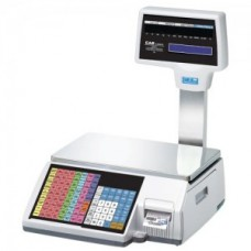 CAS - CL5000R - 30 lbs Label Printing Scale with Pole Display